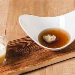 Gourmet soup in detail